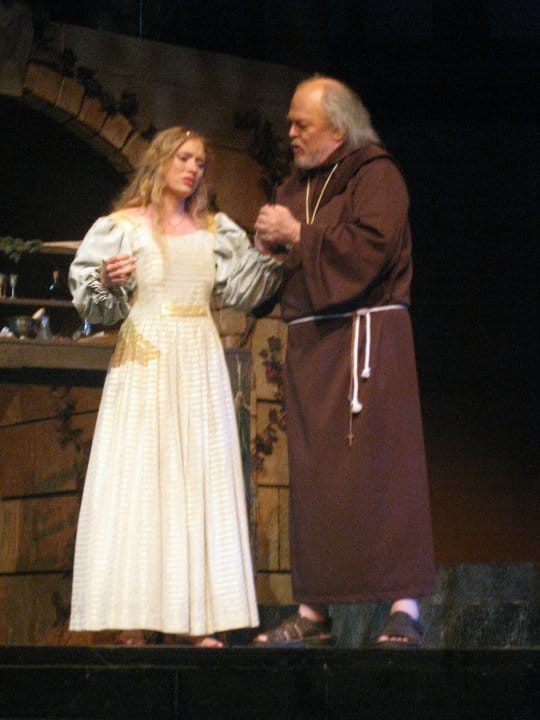 Friar Laurence and Juliet