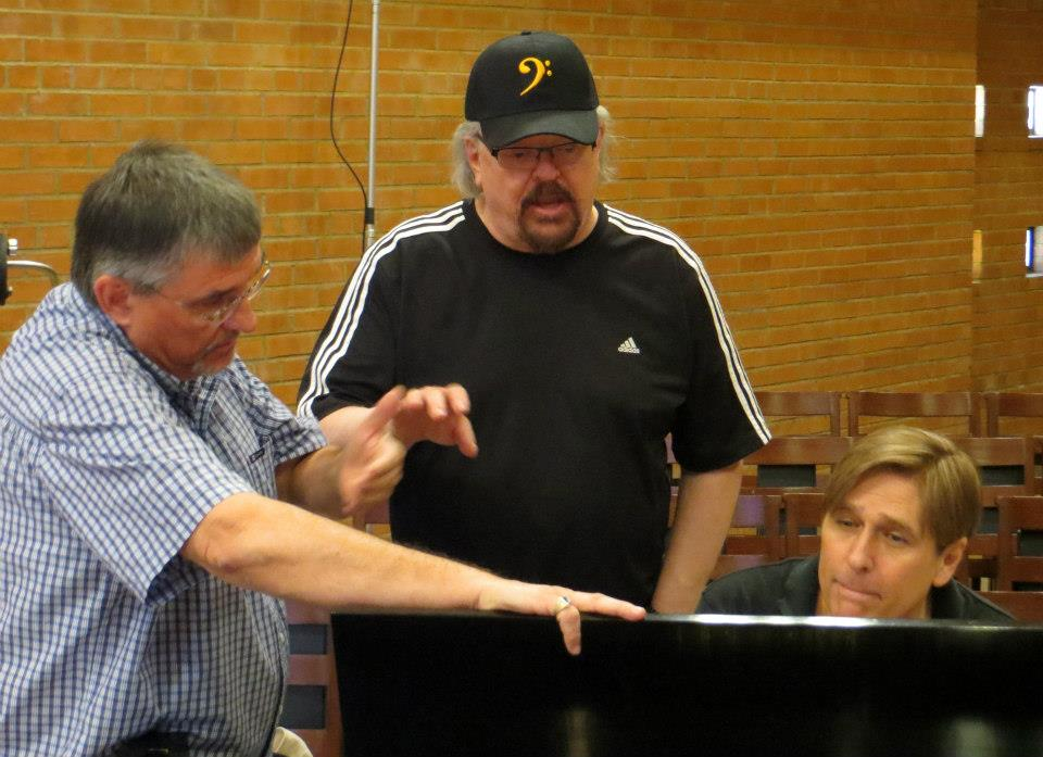 """In Rehearsal with MusicaNova Orchestra"""""""