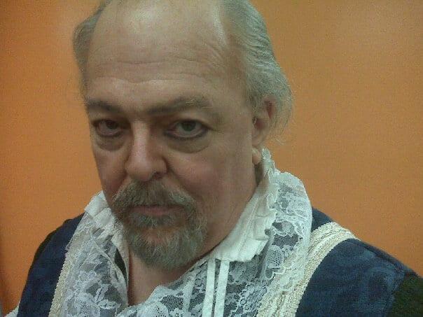 "Reignier, Duke of Anjou in ""Blood Royal"""